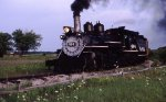 A DRGW engine in Michigan